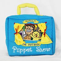 Outback Puppet Show Play Bag